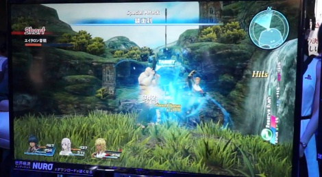 TGS: Star Ocean 5 gameplay