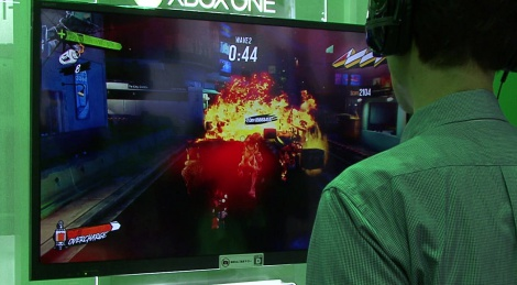 TGS: Sunset Overdrive gameplay