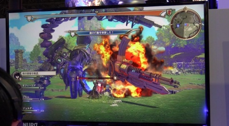 TGS: Valkyria Azure Revolution video