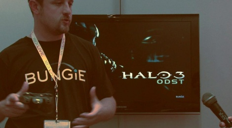 The beginning of Halo ODST showcased by Bungie