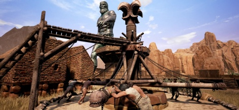 The building system of Conan Exiles