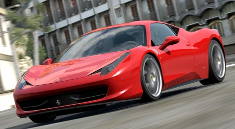 The Ferrari 458 Italia is also in Forza 3