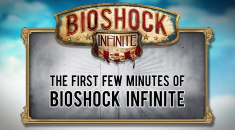 The first minutes of BioShock Infinite