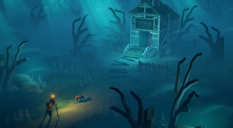 The Flame in the Flood on its way