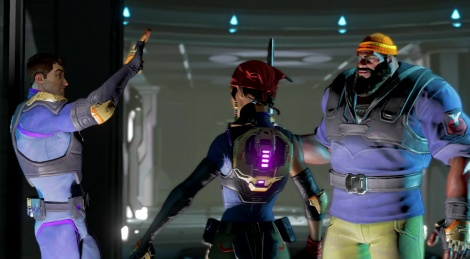 The Franchise Force from Agents of Mayhem