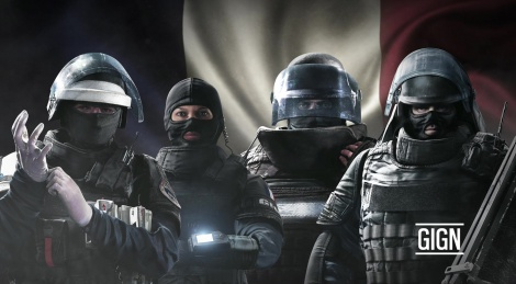 The GIGN Unit in Rainbow Six Siege
