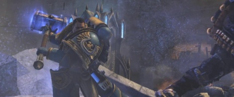 The melee weapons of Space Marine