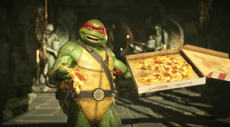The TMNT join Injustice 2 roster