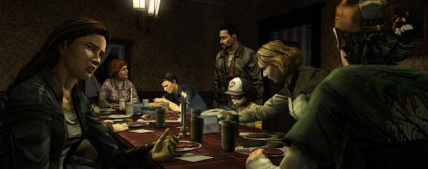 The Walking Dead Ep2 screens