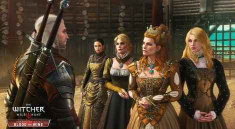 The Witcher 3: Blood & Wine screens