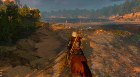 The Witcher 3 Xbox One footage