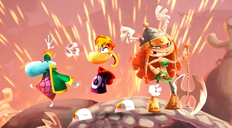 The world of Rayman Legends