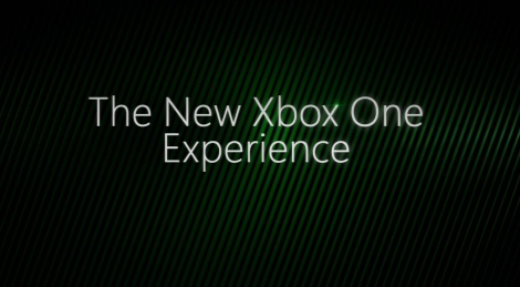 Trailer of the new Xbox One dash