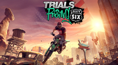Trials Rising on its way to Route 66