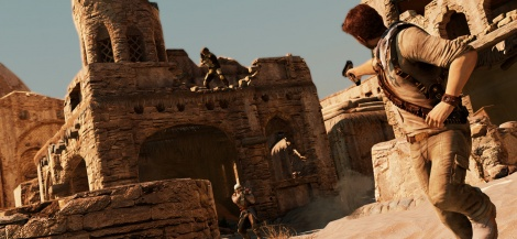 Uncharted 3 in the desert