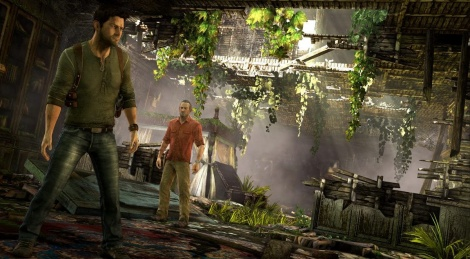 Uncharted 3 screenshots