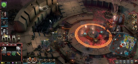 Une partie multijoueur de Dawn of War III
