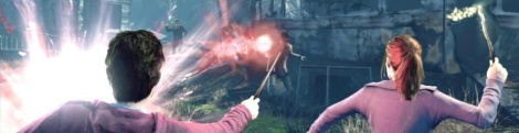 Using Kinect in Harry Potter