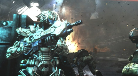 Vanquish: First screenshots