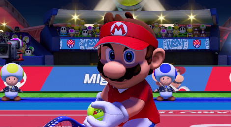 Videos of Mario Tennis Aces' demo
