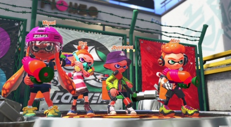 Videos of Splatoon 2's Global Testfire