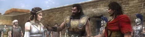 Warriors: Legends of Troy screens