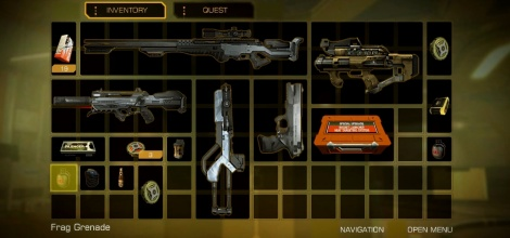 Weapons of Deus Ex HR