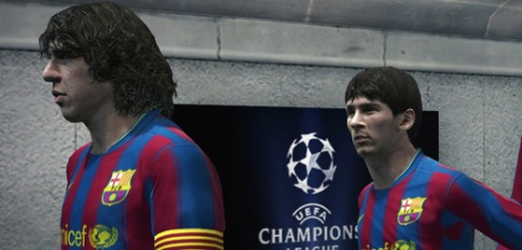 What's on the menu in PES 2010