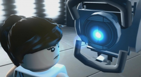 When Lego meets Portal