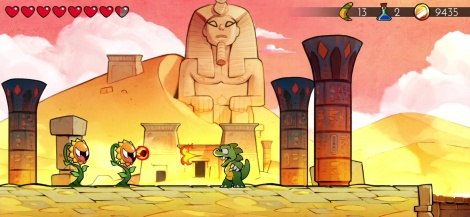 Wonder Boy: The Dragon's Trap goes retro