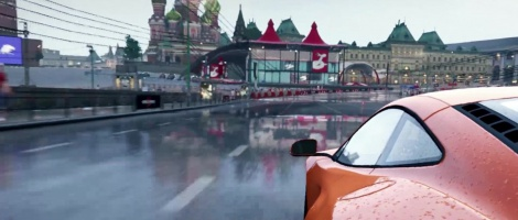 World of Speed: McLaren in Moscow
