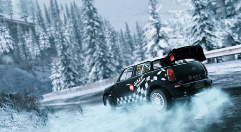 WRC 3 on the snowy roads of Monte-Carlo