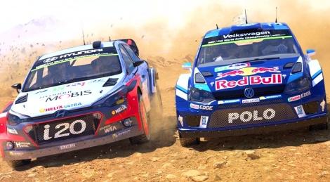 WRC 6 Also In Split Screen