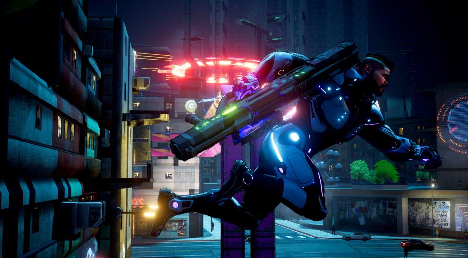 Crackdown 3 4K mayhem at 60 fps - Gamersyde