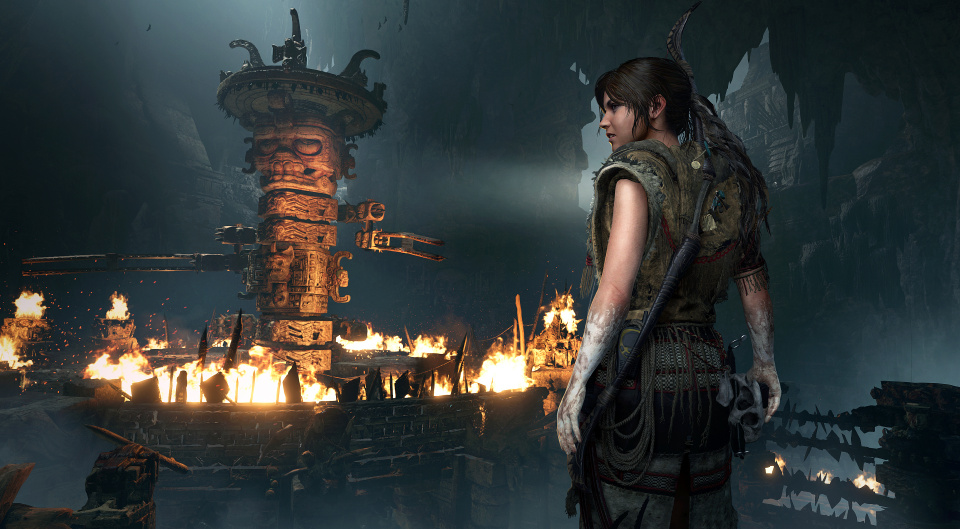 E3 Shadow Of The Tomb Raider Gameplay Trailer Gamersyde