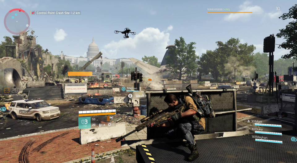 The division 2 crash on launch