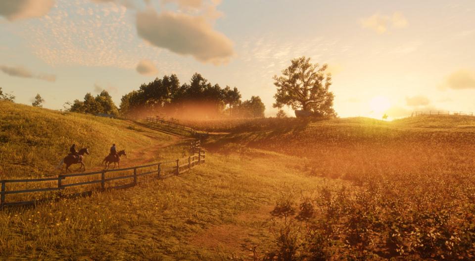 pc redemption dead screenshots gamersyde trailer