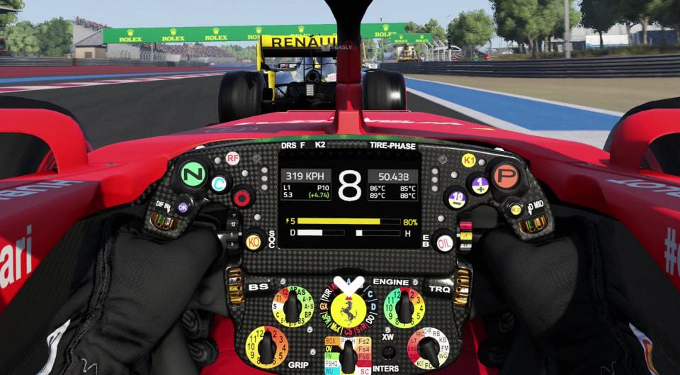 Nos vidéos PC et 4K de F1 2019 - Gamersyde