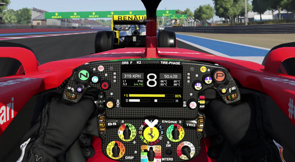 Our 4K videos of F1 2019 on PC - Gamersyde