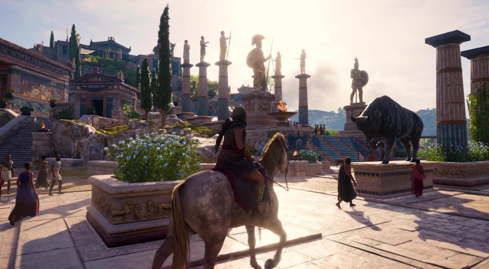 Touring Ancient Greece with Assassin's Creed Odyssey ...